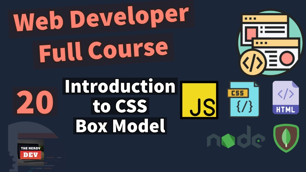 Web Developer Full Course - Introduction to CSS Box Model