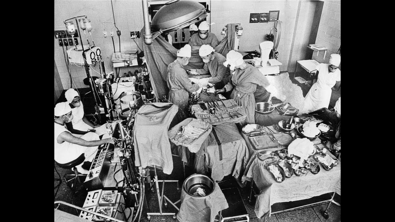 50th Anniversary of the first human heart transplant.