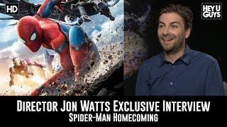 Director Jon Watts Exclusive Movie Interview - Spider-Man Homecoming