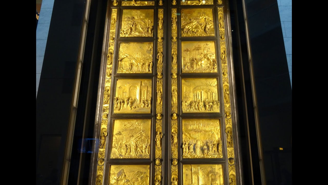 Gate of Paradise Museum of the Works of the Cathedral Florence Italy Europe - YouTube & Gate of Paradise Museum of the Works of the Cathedral Florence ... Pezcame.Com