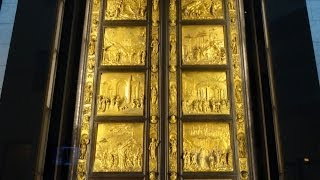 Gates of Paradise, Museum of the Works of the Cathedral, Florence, Italy, Europe