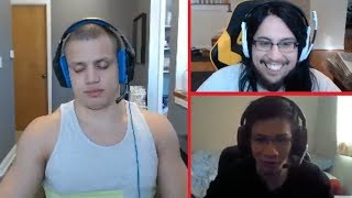 Tyler1 Sleeps Down Mid On Stream *45 HOURS* | Imaqtpie Steals Penta From Shiphtur | LoL Moments