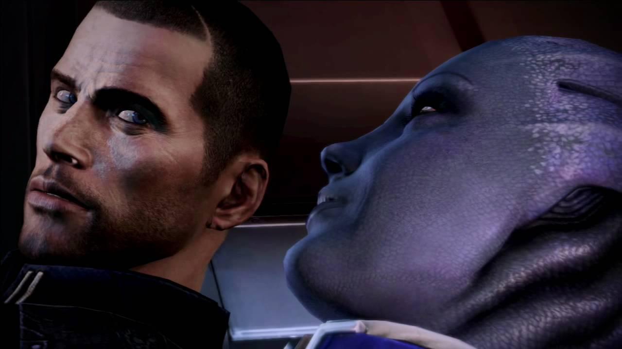 Mass Effect 3 Liara Sex Scene Complete