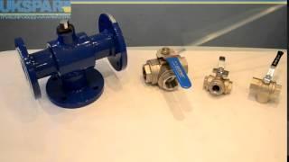 Кран шаровый трехходовой, видео обзор трехходового шарового крана. UKSPAR