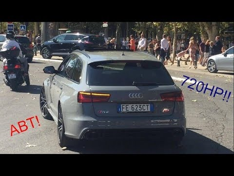 audi rs6 abt 720hp aix en provence youtube. Black Bedroom Furniture Sets. Home Design Ideas