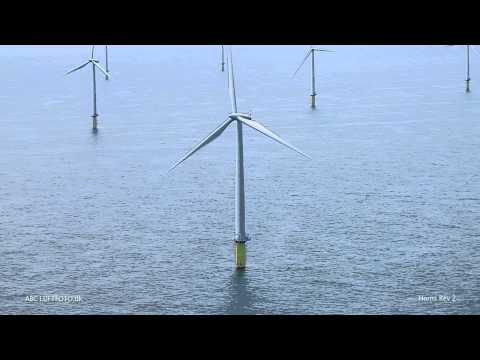 Horns Rev 2 ¨The world's largest offshore wind farm¨