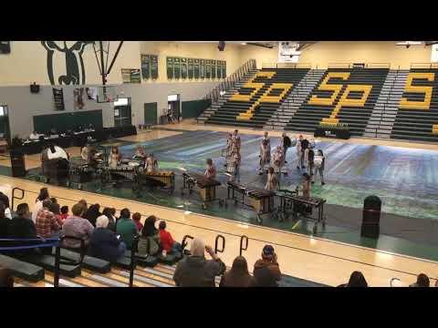 Arroyo Grande High School Winter Percussion at the SVWAA 2019 Show #3 at Sierra Pacific High School