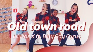 OLD TOWN ROAD - Lil Nas X ft. Billy Ray Cyrus   Easy Dance Video   Choreography Video