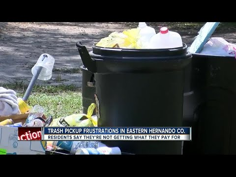 Trash Pickup Frustrations In Eastern Hernando Co.