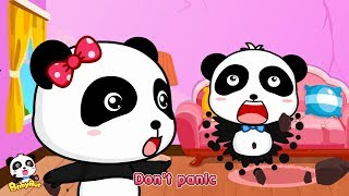 Help! Earthquake Strikes | Baby Panda is in Danger | Safety Tips for Kids | BabyBus Cartoon