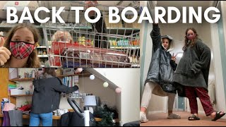 moving back to boaŗding school // Spring term