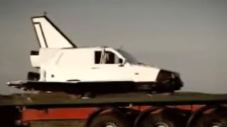 Reliant Robin space shuttle - Top Gear - Series 9 - BBC