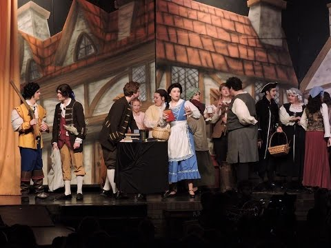 """Belle""- Beauty and the beast the musical"