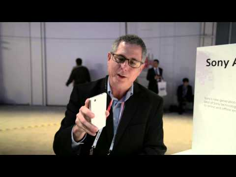 Sony Xperia Z1 Compact with Stephen Sneeden, Product Marketing Manager