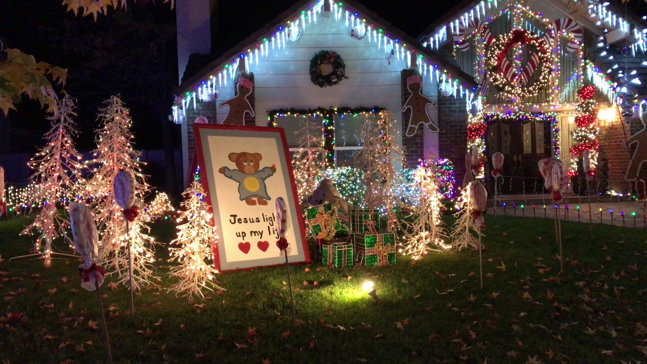 thoroughbred st christmas lights in rancho cucamonga - Thoroughbred Christmas Lights