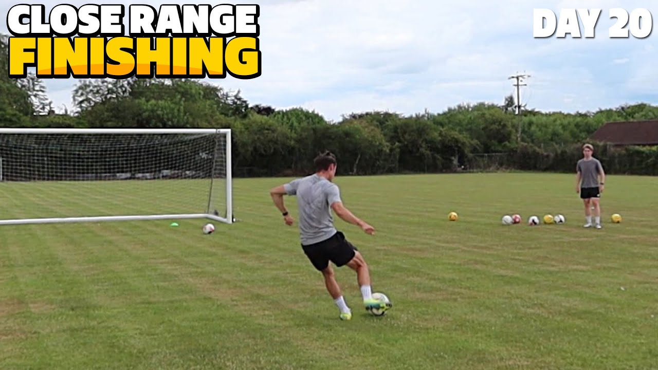 CLOSE RANGE FINISHING... (DAY IN THE LIFE OF A FOOTBALLER) | EP.20