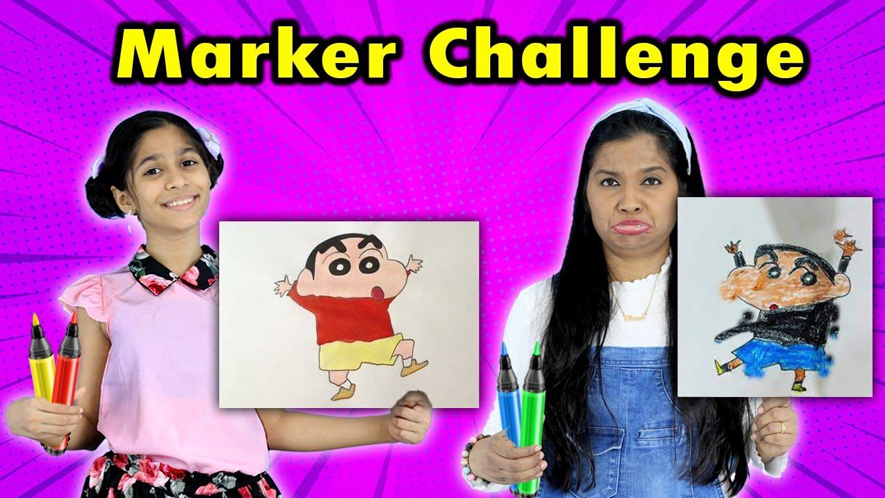 Amazing 3 Marker Challenge | Pari's Lifetyle