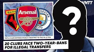 WE FOUND THE BIGGEST SNAKES IN WORLD FOOTBALL 20 CLUBS EXPOSED  WNTT