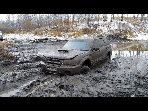 Жёсткое испытание Subaru Forester. Offroad на любимом болоте.