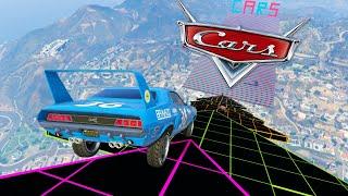 MEGA RAMPA IMPOSIBLE DE CARS!! - GTA V ONLINE