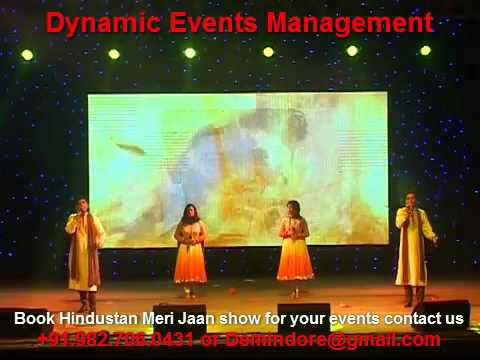 Deshbhakti Songs Live - 15 August Cultural Event, 26 January Program, Patriotic Songs Live Travel Video