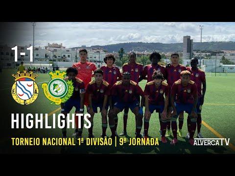 U19   FC Alverca 1 -1 Vitória FC   Highlights