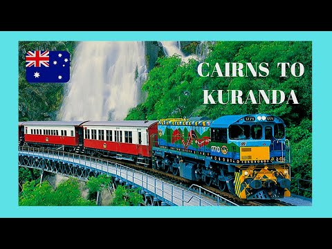 AUSTRALIA, scenic train ride to KURANDA from CAIRNS (QUEENSLAND)