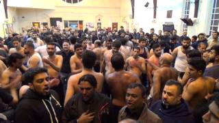 Katri Bawa - Mera Ghar Jalaya | 15th Muharram 1436H | Imam Bargah Sakina Trust (London, UK)