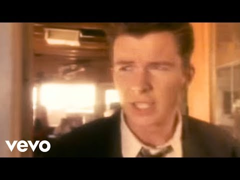 Rick Astley - Giving Up On Love (Video)