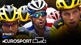 Tour de France 2020 - Stage 1 Highlights | Cycling | Eurosport
