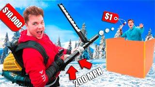 1-vs-1000-snowball-launcher-challenge-diy-snowball-fight-vs-zombies
