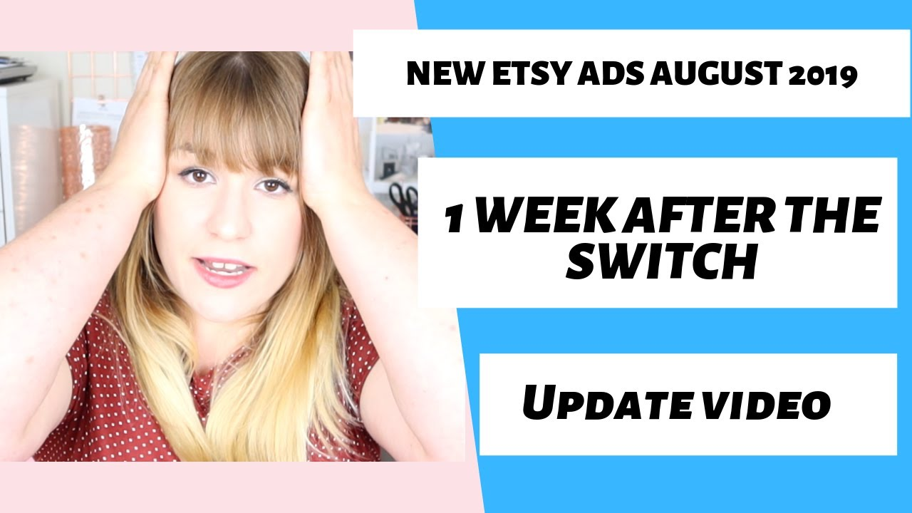 NEW ETSY ADS PLATFORM - 1 WEEK UPDATE AFTER SWITCHING OVER TO NEW ETSY ADS//Handmade Bosses
