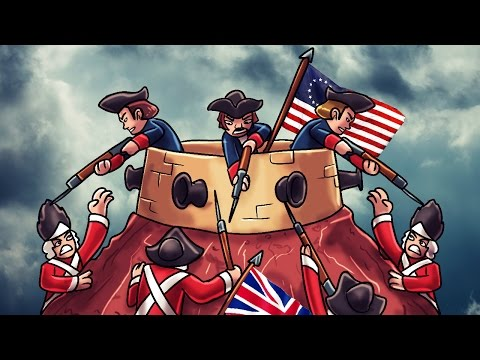 Minecraft | Good vs Evil - BATTLE OF BUNKER HILL! (Great Britain vs Patriots)
