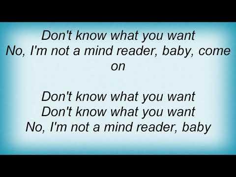 Silverchair - Mind Reader Lyrics