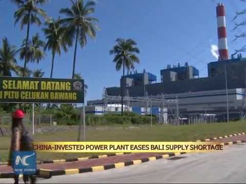 China-invested power station helps ease supply shortage in Bali