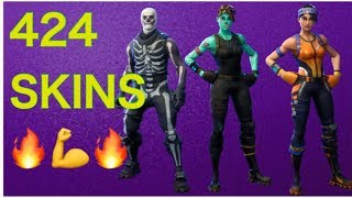 426 SKINS AT FORTNITE-MAS SHPUSH SKINA NOT IN KOSOVO 🙌
