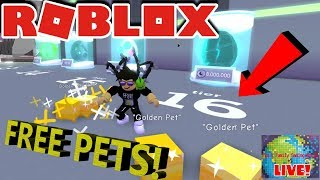 🌎🎮 Roblox | 🔴 Live Stream #150 | PET SIM | FREE TIER 16 PETS!! ROAD TO 6000 SUBS!! 🎮 🌎