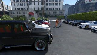 GTA V | MERCEDES CARS MEET IN GTA 5