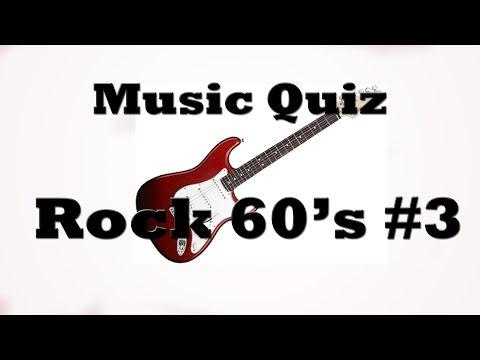 Music Quiz - Rock 60's #3