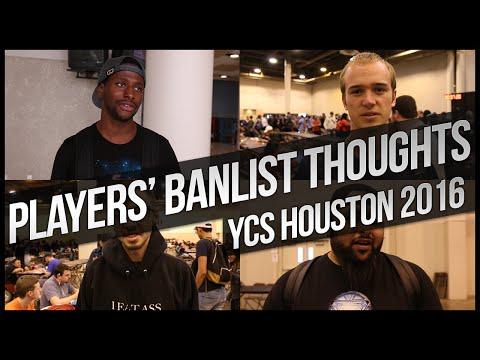 Yu-Gi-Oh Players on the April 2016 Banlist | YCS Houston
