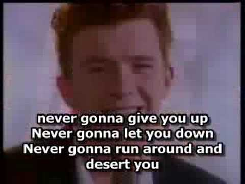 Rick Astley- Never Gonna Give You Up ( With Lyrics) - YouTube - photo #20