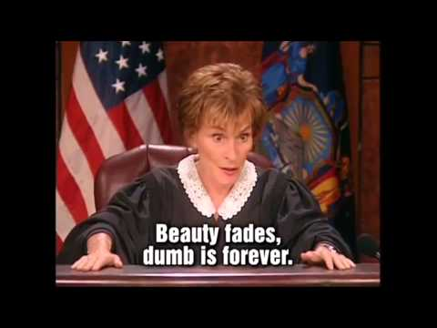 Judge Judy Intro Remix + Funny Quotes!