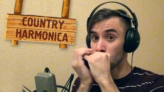 �������� ���� Country-blues style [HARMONICA LESSON] ������