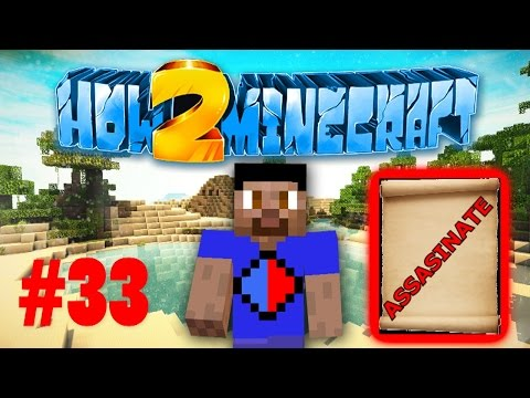 Minecraft SMP HOW TO MINECRAFT S2 #33 'ASSASSINATION CONTRACTS!' with Vikkstar