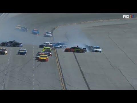 Monster Energy NASCAR Cup Series 2018. Talladega Superspeedway. Multiple Crash