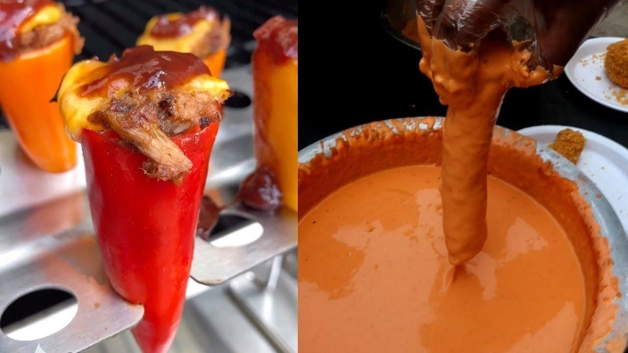 Increibles Comidas Callejeras Que están a otro NIVEL - Street Food
