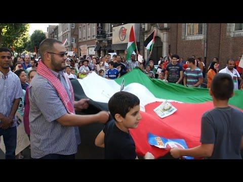 Verviers - Manifestation pour la Palestine