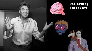 TMNT VOICE-ACTOR PAT FRALEY ON VOICING KRANG, BAXTER AND CASEY JONES