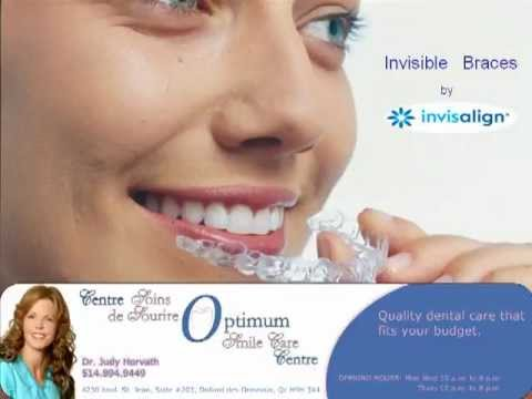 invisalign Invisible Clear Braces Montreal (514) 894-9449 | Invisible Braces West Island