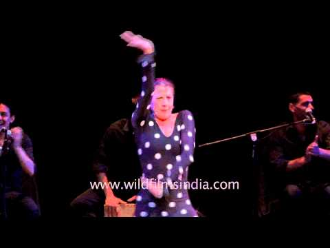 Flamenco Superstar - Maria Pages performing at ICCR